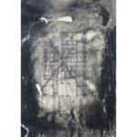 WTC, encaustic, 9.5x6.5in, Disquietude, 2010; Gallery of Visual Arts, University of Montana