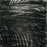Permeable, monoprint, mezzotint, 1/1, Disquietude, 2010; Gallery of Visual Arts, University of Montana