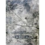 Navigation, encaustic, 9.5x6.5in, Disquietude, 2010; Gallery of Visual Arts, University of Montana