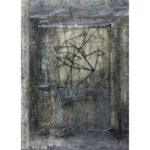 Free as a Bird, encaustic, 9.5x6.5in, Disquietude, 2010; Gallery of Visual Arts, University of Montana