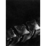 Passage, mezzotint, AP, Disquietude, 2010; Gallery of Visual Arts, University of Montana