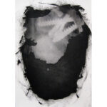 Nest, photopolymer monoprint, 7x5in, Disquietude, 2010; Gallery of Visual Arts, University of Montana
